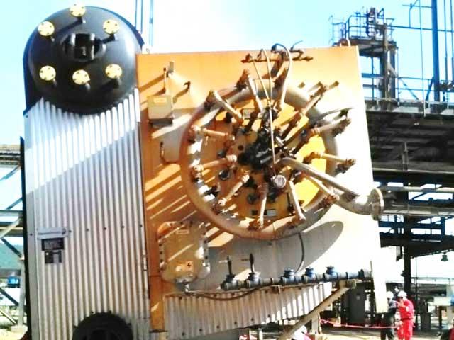 pdvsachevron venezuela - boiler installation