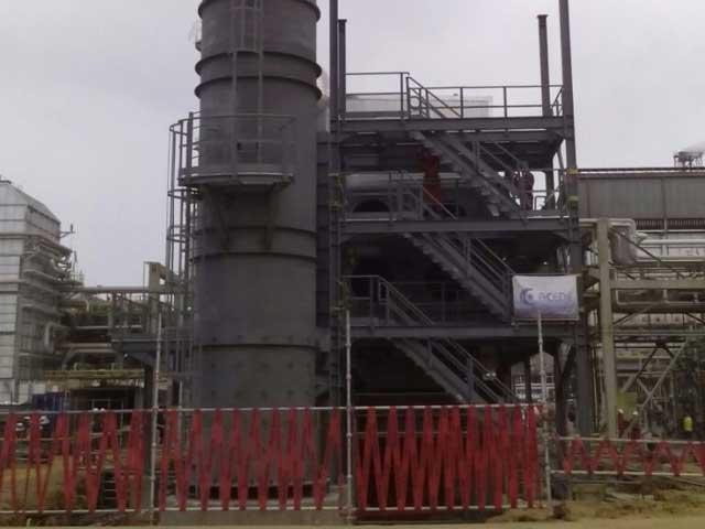 pequiven fertinitro venzuela - boiler installation